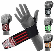 EMRAH Weight Lifting Wrist Wraps Bandage Hand Support Gym Straps Brace Cotton