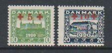 Timbres du Danemark, sur croix-rouge