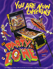Party Zone Pinball - CPU Rom F-4 [U6] (Solid State Flippers Only) [Bally] EPROM
