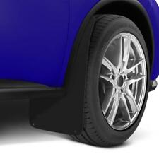 LARGE Wide BLACK Mud Flaps Splash Guards fits VW AMAROK (MF3)