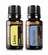 30%Off doTerra Digestzen Lime 15ml duo Therapeutic Essential Oil Aromatherapy
