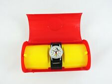 MICKEY MOUSE Wrist Watch BRADLEY Time Elgin NOT WORKING Walt Disney with Case