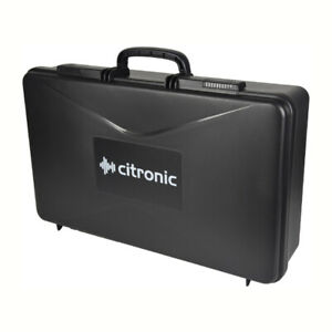UNIVERSAL ABS PLASTIC CASE FOR RADIO MICROPHONES, MIXERS etc - 525 x 335 x 132mm