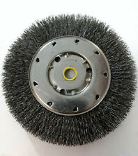 "Osborn 6""1/2 & 5/8"" Arbor Hole, Crimped Steel Wheel Brush 6,000 RPM"