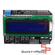 LCD 1602 teclado key shield Azul Pantalla 16x2 Arduino Retroiluminado Arduino SP