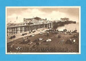 Palace Pier, Brighton, Sussex, Postcard.