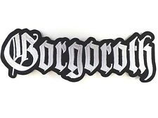 GORGOROTH  EMBROIDERED BACK PATCH
