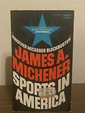 Sports in America by James A. Michener (1977, Mass Market)