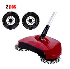 2x Brushes for Magic Manual Telescopic Floor Dust Sweeper Side Brush Home Clean