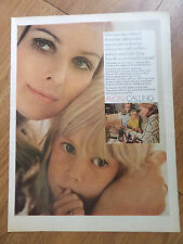 1969 Avon Calling Ad Costmetic's are Created just for Women like You