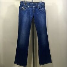 d4623413 Diesel Women's Cherone Bootcut Jeans Medium Wash Made In Italy Size 30