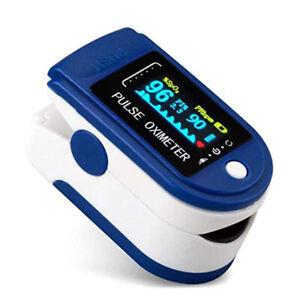 Fingertip Pulse Oximeter, Blood Oxygen Monitor for Heart Rate Measurements