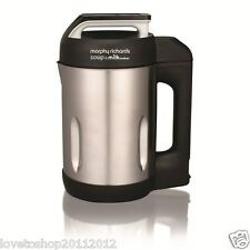 Morphy Richards Soup And Milk Maker 1.6 Litre In Stainless Steel 501000 REFURB