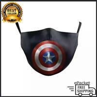 Captain America Cotton Face Mask