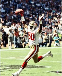 """Jerry Rice 49ers Most Receiving Touchdowns in a Single Game 16"""" x 20"""" Photo"""