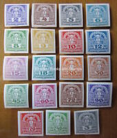 EBS Austria Österreich 1920 Newspaper stamps Zeitungsmarken Michel 293-311 MNH**