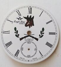 6498 Movement 38.12 mm hunter style Eaglestar -Arnex pocket watch dial for Ut-