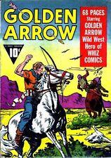 Golden Arrow #1 Photocopy Comic Book, Fawcett Publications