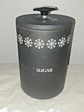 "Vintage lightly used Miracle Maid 9"" Sugar Cannister (N968)s7"