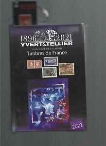 catalogue de cotation Yvert et Tellier France 2021