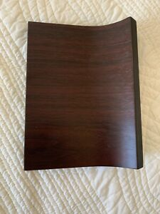Umbra Magnetter Key Panel & Letter Holder ESPRESSO wood Wall-Mount Organizer