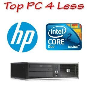 HP dc7900 SFF Desktop Core 2 Core E8400 2G 160G DVD Windows XP Pro