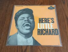 SUPER FINE TIGHT ORIGINAL 1957 'HERE'S LITTLE RICHARD' U.K. FIRST PRESS MONO LP