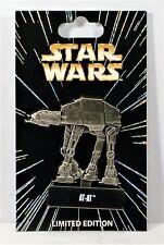 Disney Star Wars Pin Of The Month Vehicles Series AT AT Hinged Pin LE 6000 NEW