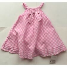 Mothercare Casual Checked Dresses (0-24 Months) for Girls