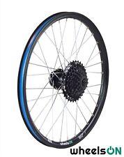 QR 20 inch Rear Wheel + 9 Spd Shimano Cassette HG-200-9 11-34 Folding Bike Disc
