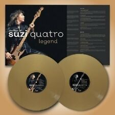 SUZI QUATRO ~ LEGEND: THE BEST OF ~ 2 x NUMBERED LTD. ED. GOLD VINYL LP ~ *NEW*