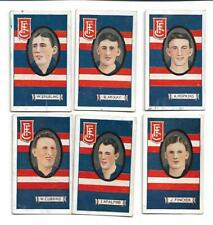 FOOTSCRAY 1933 STRIPED ALLENS VFL FOOTBALL CARDS