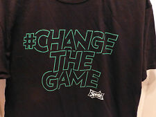 Sprite Soda Shirt Mens large CHANGE THE GAME graphic Fruit of the Loom New Black