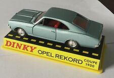 ATLAS DIECAST CAR MODEL DINKY TOYS 1405 OPEL REKORO COUPE 1900 1/43 COLLECTION