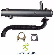 New Kumar Bros USA Spark Arrestor  Muffler/ Ex Pipe/ Clamp for Bobcat 743