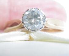 Valuation$2630 Genuine 0.70ct Diamond Ring 9K Yellow Gold