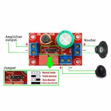Höhen/Bass Einstellbarer Frequenzteiler Lautsprecher 2Wege HiFi Crossover XY