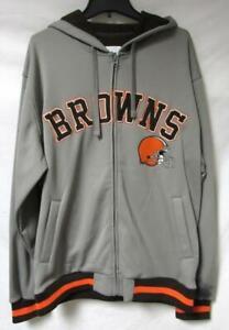 Cleveland Browns Men's Size  X-Large Full Zip Hoodie Sweatshirt A1 3117