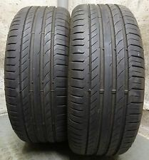 2 x CONTINENTAL 225/45 R18 91V 5,5 mm Sport Contact 5 * RUNFLAT Sommerreifen