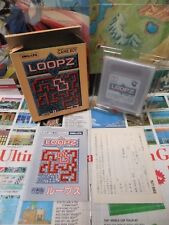 Game Boy GB:Loopz [TOP AUDIOGENIC & 1ERE EDITION] Jap