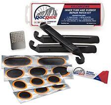 RocRide 16-PC Bicycle Inner Tube Patch Bicycle Repair Kit.