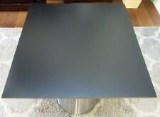 HPL-Platte Tischplatte 8 mm Black 750x706 mm Max Exterior Unidekor NT  U 0080B1