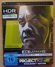 The Equalizer 4K Ultra HD + Blu-ray Steelbook Edition HDR UHD NEU noch in Folie