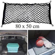 Rete auto portaoggetti tasca ferma bagagli rete flessibile 80x50 cm bagagliaio