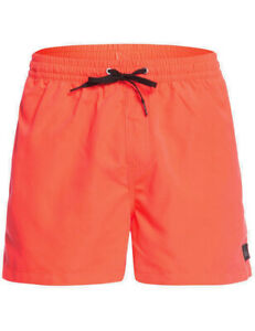 Quiksilver Everyday Volley 15 Elasticated Boardshorts in Fiery Coral