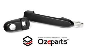 FRONT RH Right Hand Outer Door Handle Matte Black For Hyundai Accent 2005~2009