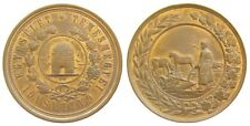 h592 Romania Hungary 1900's Timisoara Agriculture Apiculture Bee Grapes Medal