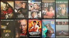 100 Dvd titles, great condition, same day shipping (set 1)