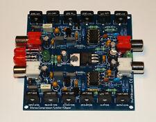 Stereo Compressor Limiter Clipper For FM Transmitter Broadcast
