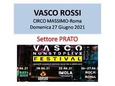 Ultimo PRATO-VASCO ROSSI - Circo Massimo, ROMA-Domenica 27/06/21